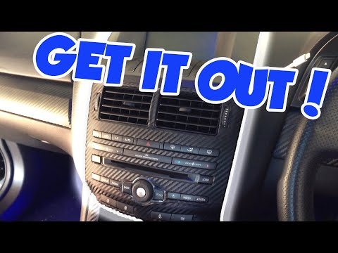 How To Remove Ford FG ICC/ Head Unit