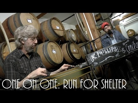 ONE ON ONE: K Phillips - Run For Shelter April 25th, 2015 City Winery New York