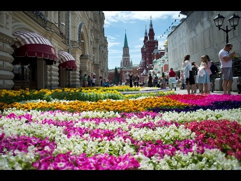 Moscow's GUM Hosts Flower Festival
