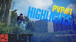 Rust - PvP Highlights (Vanilla)