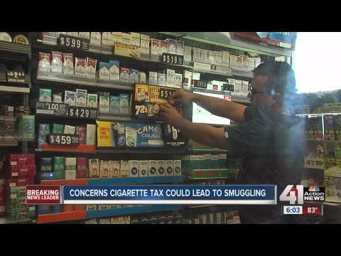 Smokers react to recent increase in Kansas cigarette tax