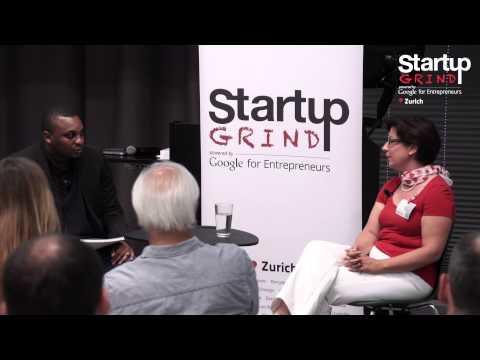 Carmen De la Cruz (Startup Attorney) at Startup Grind Zurich