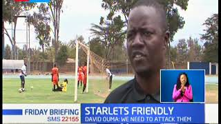 Kenya\'s Harambee Starlets take on Ethiopians
