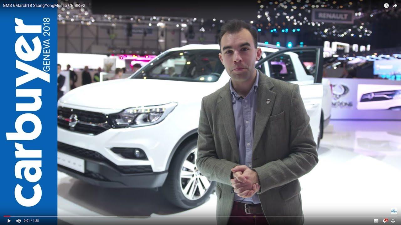 2018 SsangYong Musso pickup walkaround and interior –Geneva Motor Show 2018 - Dauer: 89 Sekunden
