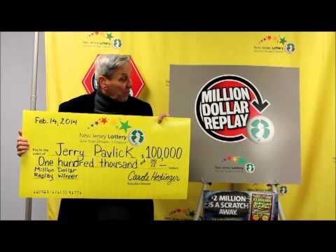 Nj Lottery Million Dollar Replay