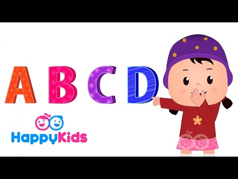 ABC Tumble Down D - Nursery Rhymes For Kids And Children | Baby Songs | HappyKids