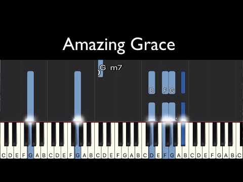 Amazing Grace My Chains Are Gone Keyboard Chords By Chris Tomlin
