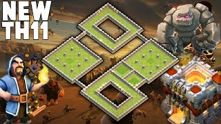 NEW TH11 BEST WAR BASE (Layout) | TH11 Clan War Leagues New War Base Anti 3 Star | Clash of clans