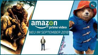 Neu auf Amazon Prime Video im September 2018 | Die besten Filme und Serien