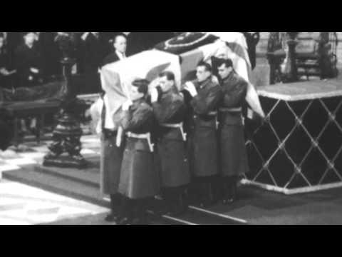 Funeral of Winston Churchill: Service inside St Paul's