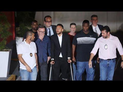 نيمار يدلي بشهادته حول مزاعم باغتصابه عارضة أزياء في باريس…  - 12:53-2019 / 6 / 14