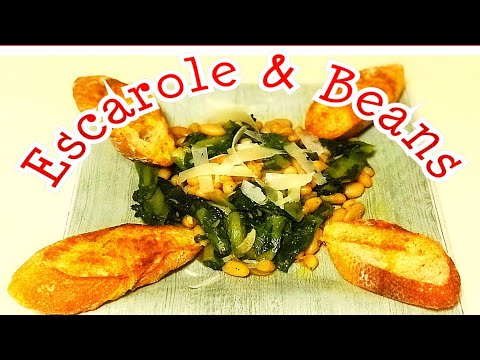 Escarole And Beans Salad In 5 Minutes 👌