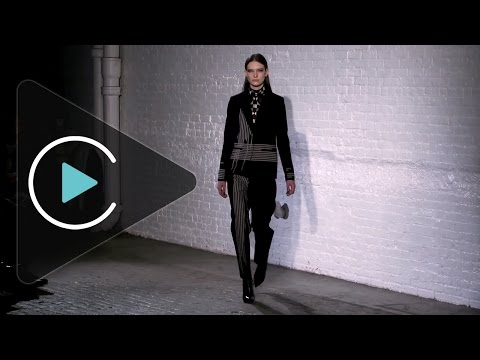 Yigal Azrouel Autumn Winter 2015 New York Fashion Show