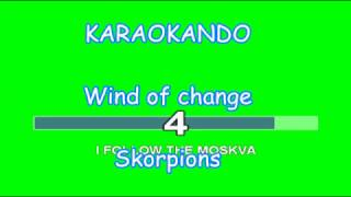 Karaoke Internazionale - Wind of Change - Skorpions ( Lyrics )