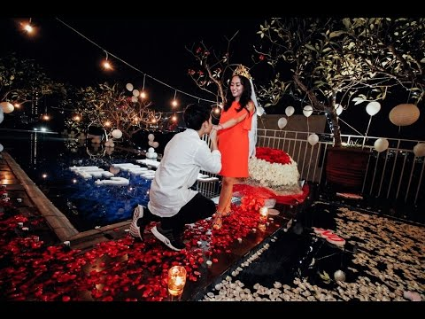 Wedding Proposal Rachel & Niko