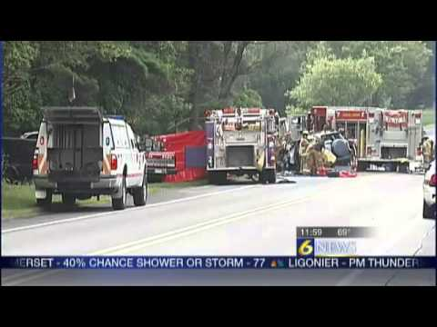 Fatal crash closes Rt  422 in Indiana Co
