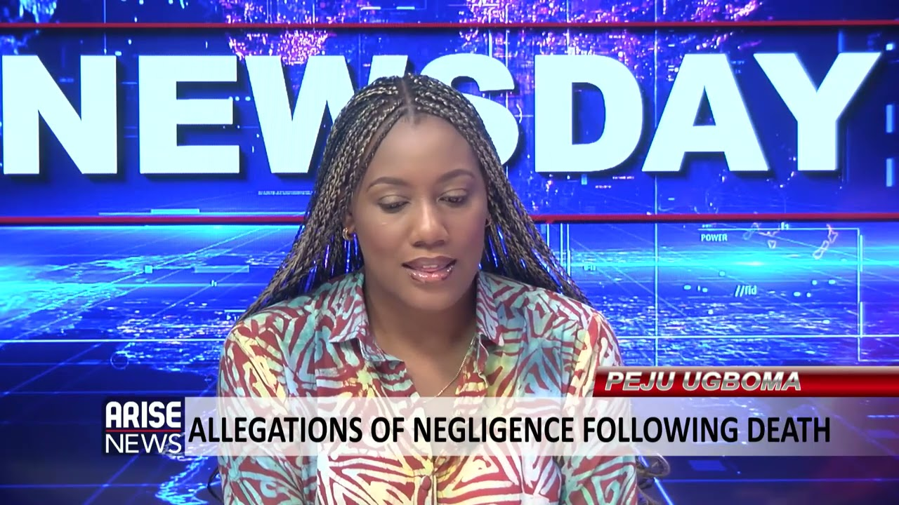 Download PEJU UGBOMA: ALLEGATIONS OF NEGLIGENCE FOLLOWING DEATH