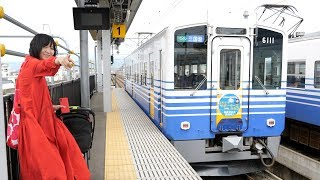 北陸新幹線の高架を間借りしているえちぜん鉄道と福井鉄道に乗ってきた