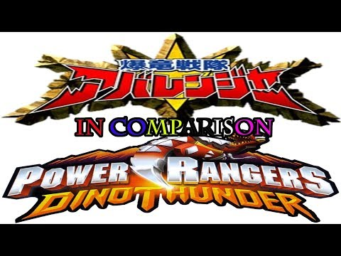 In Comparison Ep. 12: Abaranger vs PR Dino Thunder