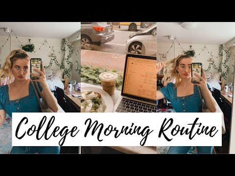 College Morning Routine Fall 2019 | Harvard University