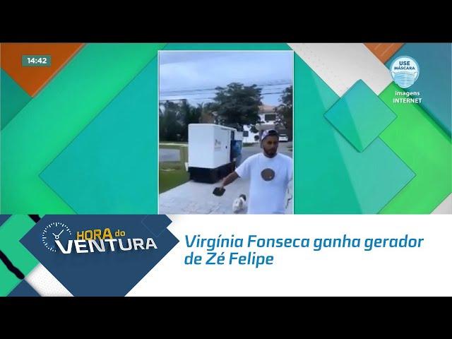 Após ficar 24 horas sem energia em casa, Virgínia Fonseca ganha gerador de Zé Felipe