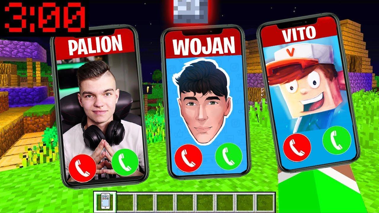 Download NIE ODBIERAJ TELEFONU OD PALIONA WOJANA VITO o 3:00 w NOCY w Minecraft!