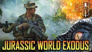 JURASSIC WORLD EXODUS TRAILER - A FALLEN KINGDOM FAN FILM - SPARTAN117GW 30.7.18