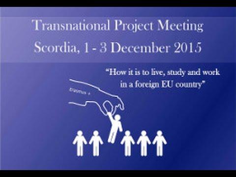 Transnational project meeting Scordia 1-3 December 2015