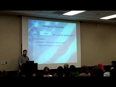 Shariah Law and American Law: Can a Muslim be a good American
