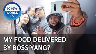 My food delivered by Boss Yang? [Boss in the Mirror/ENG/2020.05.28]