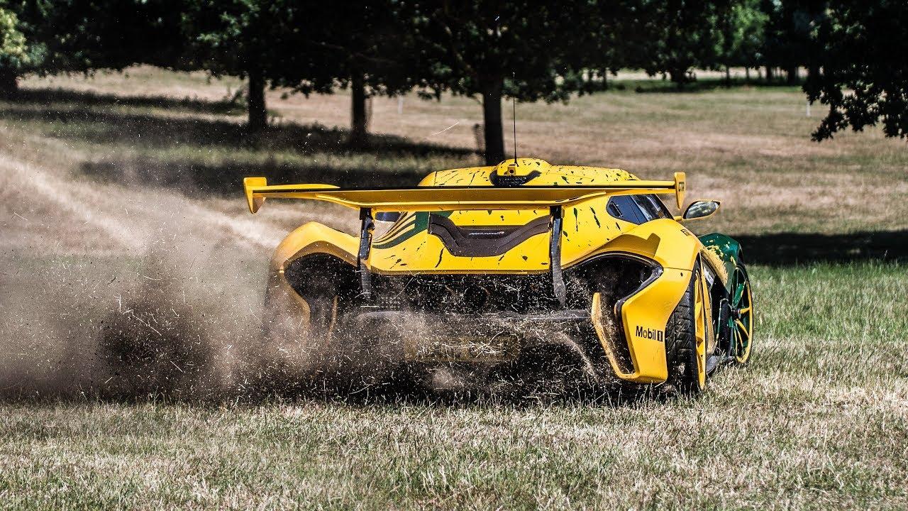 $5 MILLION McLaren P1 GTR McDonald's DRIVE THRU, DONUTS and DRIFTING!!