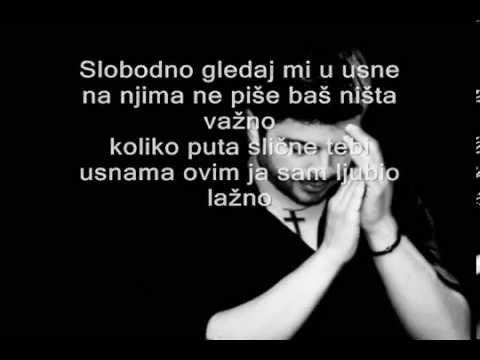 Toše Proeski- Ako me pogledaš u oči (tekst)