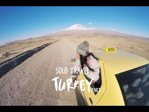SOLO TRAVEL EAST TURKEY 2016 (MOUNT ARART, DOGUBEYAZIT, VAN LAKE, CAPPADOCIA, ISTANBUL)
