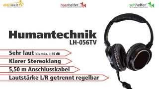 Produktvideo zu Fernsehkopfhörer Humantechnik LH-056TV