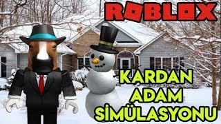 ☃️ ☃️ de Kardan Adam Sim-lasyonu ? Simulador de hombre de nieve ? Roblox Torksée