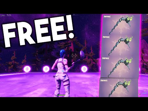 How to Get MINTY PICKAXE in Fortnite! (FREE PICKAXE CODE)