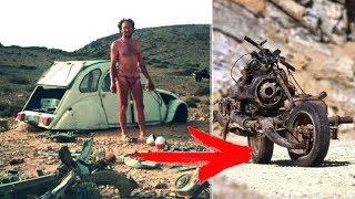 Он разбил машину посреди ПУСТЫНИ, 12-дней ВЫЖИВАНИЯ ему понадобилось, чтобы сделать ЭТО!
