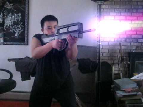 Adobe After Effects Terminator 2 Plasma Rifle Effect