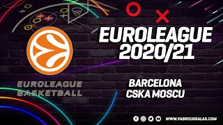 EuroLeague | Barcelona vs CSKA | Ronda 1