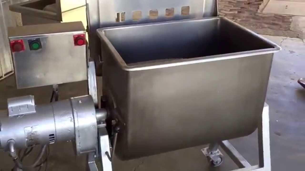Mezcladora De Carne Bazarlosmenones Equipos Para La Industria Alimenticia