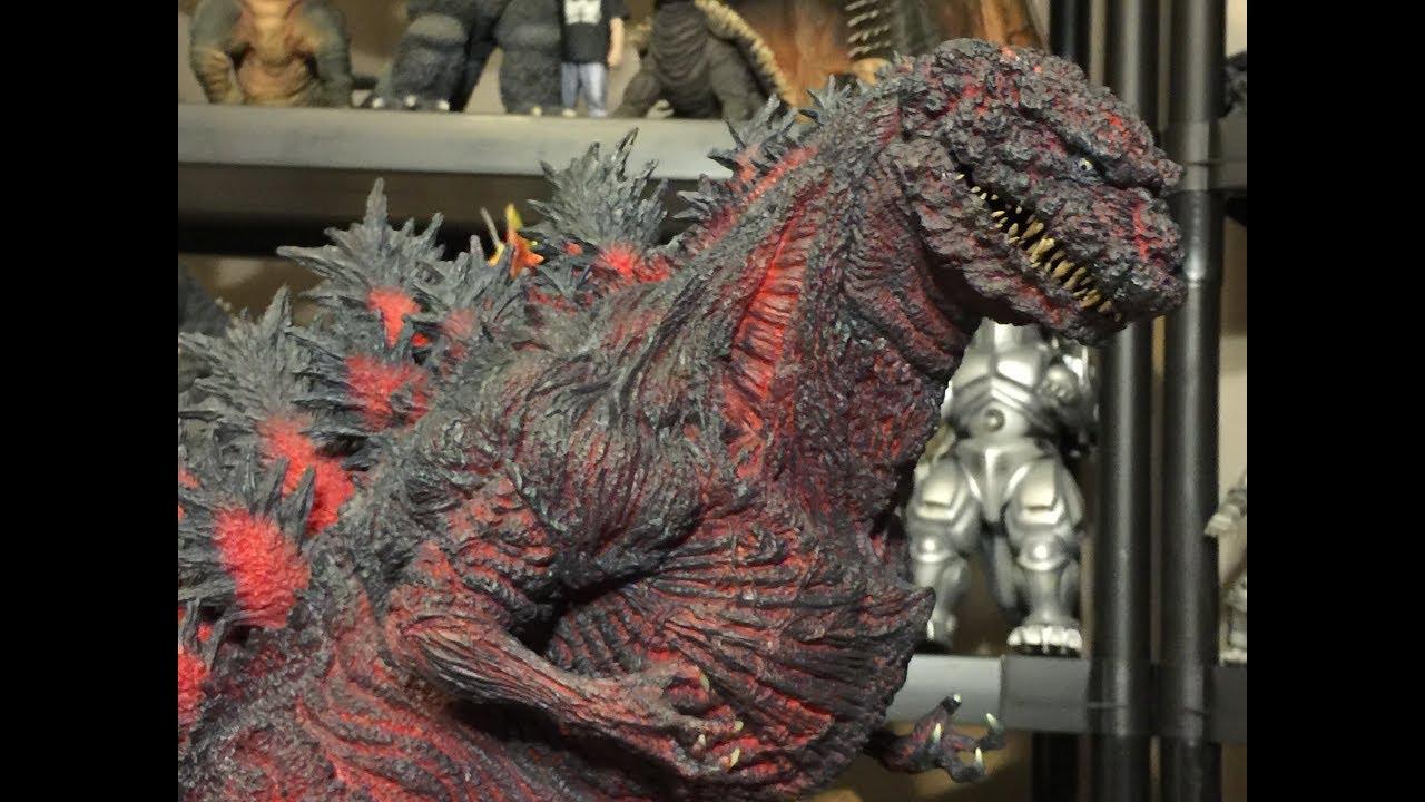 Unboxing X Plus Gigantic Series Shin Godzilla Youtube