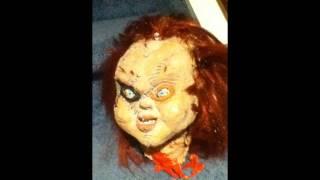 Bride of chucky latex head