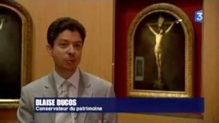 Le Christ en Croix de Rembrandt au Louvre