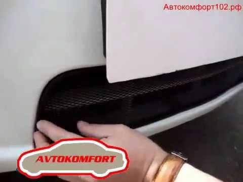 автокомфорт102 рф Защита радиатора CHEVROLET CRUZE Черная (new)