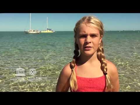 Bianca #MyOceanPledge Shark Bay, Western Australia World Heritage marine site