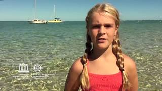 Bianca #MyOceanPledge Shark Bay, Western Australia World Heritage marine site
