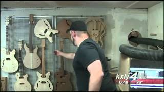 songhurst guitars kxly 4 made in the northwest