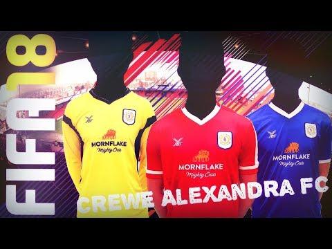 FIFA 18 Crewe Alexandra FC karrier S1E01 + Squad Battles