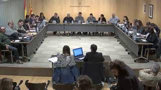 Ajuntament de Calafell: sessió plenària ordinària, 6 de març de 2017