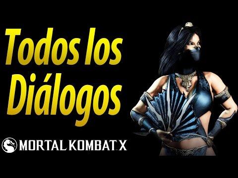 Save Mortal Kombat X | Español Latino | Todos los Diálogos | Kitana | Xbox One | Snapshots
